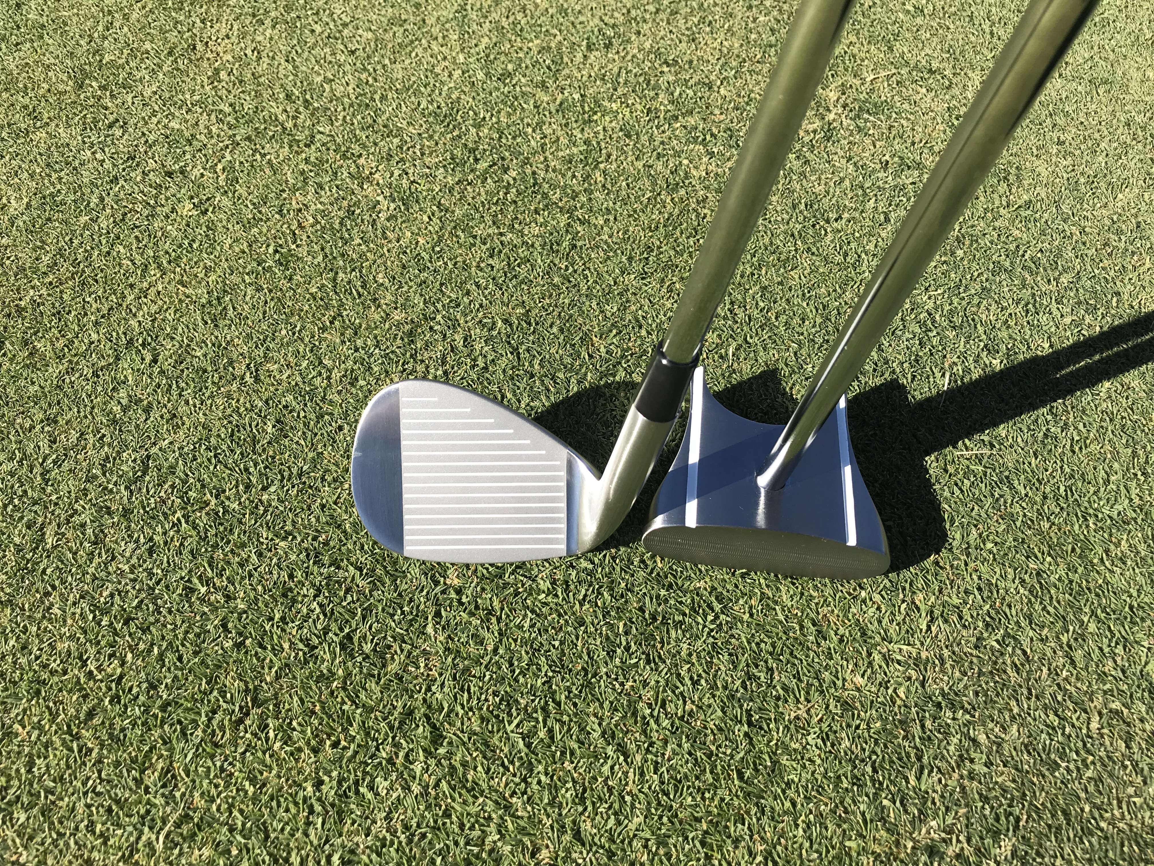 Chipping club and GP putter